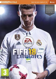 Jaquette de FIFA 18 PC