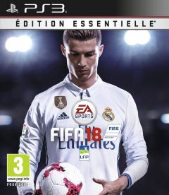 Jaquette de FIFA 18 PlayStation 3