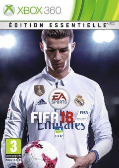 Jaquette de FIFA 18 Xbox 360