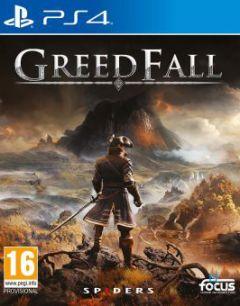 Jaquette de GreedFall PS4
