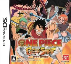 Jaquette de One Piece Gear Spirit DS