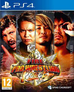 Jaquette de Fire Pro Wrestling World PS4