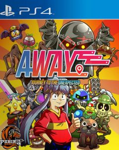 Jaquette de AWAY : Journey to the Unexpected PS4