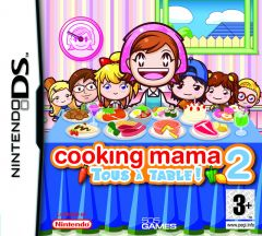 Jaquette de Cooking Mama 2 : Tous � Table ! DS