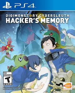 Jaquette de Digimon Story : Cyber Sleuth Hacker's Memory PS4