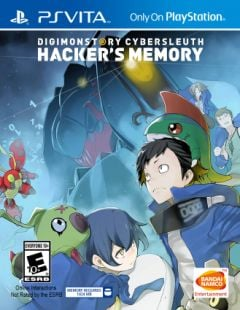 Jaquette de Digimon Story : Cyber Sleuth Hacker's Memory PS Vita