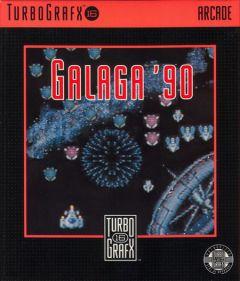 Jaquette de Galaga '90 PC Engine