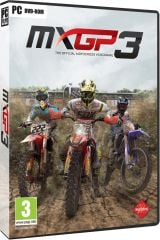 Jaquette de MXGP 3 : The Official Motocross Videogame PC