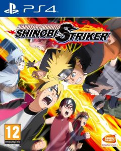 Jaquette de Naruto to Boruto : Shinobi Striker PS4
