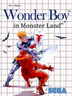Jaquette de Wonder Boy in Monster Land PC Engine