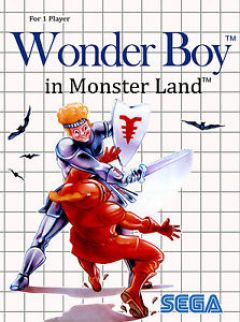 Jaquette de Wonder Boy in Monster Land Amstrad CPC