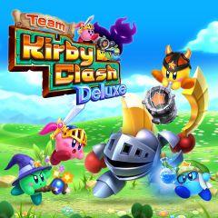 Jaquette de Team Kirby Clash Deluxe Nintendo 3DS