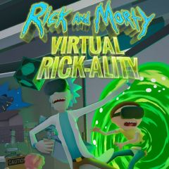 Jaquette de Rick and Morty : Virtual Rick-ality PC