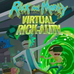 Jaquette de Rick and Morty : Virtual Rick-ality PC