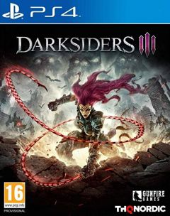 Jaquette de Darksiders III PS4