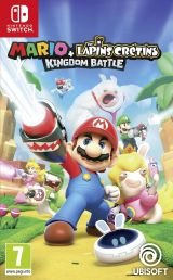 Jaquette de Mario + The Lapins Crétins Kingdom Battle Nintendo Switch