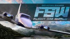 Jaquette de Flight Sim World PC