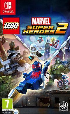 Jaquette de LEGO Marvel Super Heroes 2 Nintendo Switch