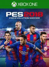 Jaquette de PES 2018 Xbox One