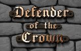 Jaquette de Defender of the Crown Commodore 64