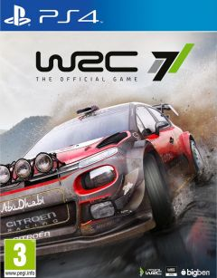 Jaquette de WRC 7 PS4