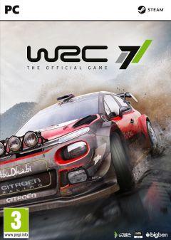 Jaquette de WRC 7 PC