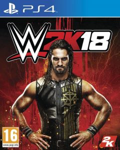 Jaquette de WWE 2K18 PS4