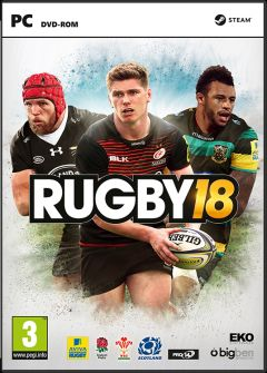Jaquette de Rugby 18 PC