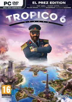Jaquette de Tropico 6 PC