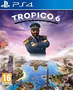 Jaquette de Tropico 6 PS4