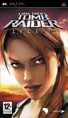Jaquette de Tomb Raider Legend PSP