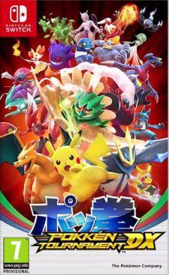 Jaquette de Pokkén Tournament DX Nintendo Switch
