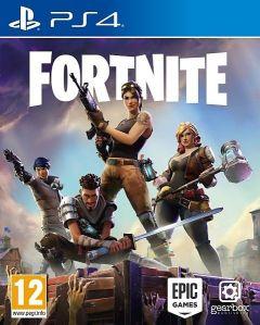 Jaquette de Fortnite PS4