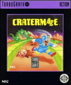 Jaquette de Cratermaze PC Engine