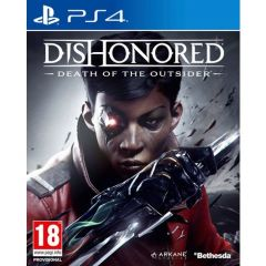 Jaquette de Dishonored : La mort de l'Outsider PS4