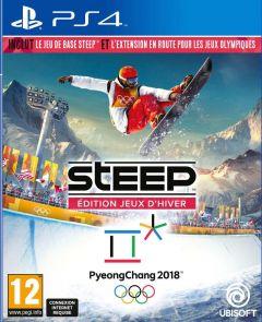 Jaquette de Steep : En route pour les Jeux Olympiques PS4