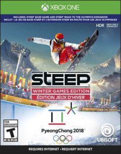Jaquette de Steep : En route pour les Jeux Olympiques Xbox One