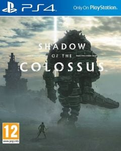 Jaquette de Shadow of the Colossus PS4