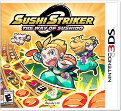 Jaquette de Sushi Striker : The Way of Sushido Nintendo 3DS
