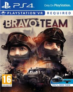 Jaquette de Bravo Team PS4