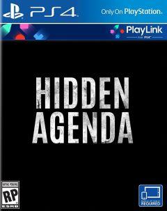 Jaquette de Hidden Agenda - Playlink PS4