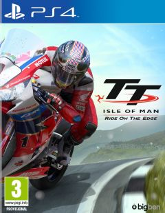 Jaquette de TT Isle of Man PS4