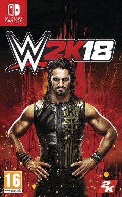 Jaquette de WWE 2K18 Nintendo Switch