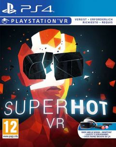 Jaquette de SUPERHOT VR PlayStation VR