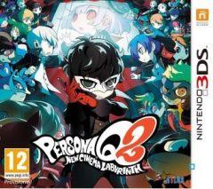 Jaquette de Persona Q2 : New Cinema Labyrinth Nintendo 3DS