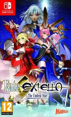 Jaquette de Fate/Extella : The Umbral Star Nintendo Switch