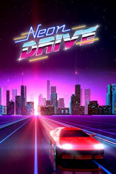 Jaquette de Neon Drive iPhone, iPod Touch