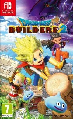 Jaquette de Dragon Quest Builders 2 Nintendo Switch
