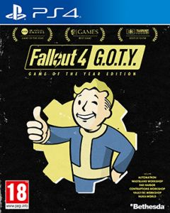 Jaquette de Fallout 4 : Game of the Year Edition PS4