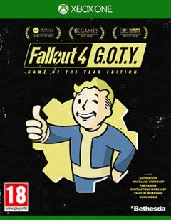 Jaquette de Fallout 4 : Game of the Year Edition Xbox One